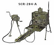 Radio set SCR-284-A