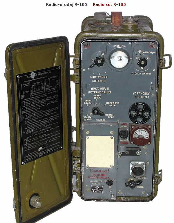 R-109 Radio Set R-105